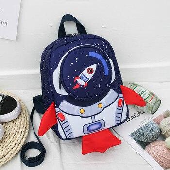 Children Bag Cute Cartoon Kids Bags Kindergarten Preschool Backpack For Boys Girls Baby School 3-6 Years Old