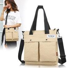 Холщовые сумки для студентов, повседневные Простые многоразовые сумки для покупок, высококачественные сумки-мессенджеры с вышивкой, дизайнерские сумки на одно плечо