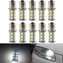 6PCs 5050 1156 BA15S 18SMD White LED Bulb Lamp P21w R5W R10W 1157 Led Bulbs Turn Signal Reverse Lights Car Light Tail Parking