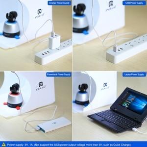Image 5 - Puluz 20cm 데스크탑 사진 스튜디오 접이식 탁상용 슈팅 라이트 박스 사진 포토 박스 Led 라이트 소프트 박스 라이트 박스 6 색
