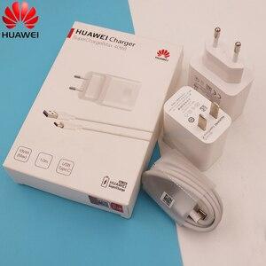 Быстрое зарядное устройство Huawei Supercharge макс. 40 Вт 10 В/4A с кабелем 5A для Huawei P30 P40 Nova 5 5t 7 Pro Mate 30 20 Pro Magic 2 Honor V30