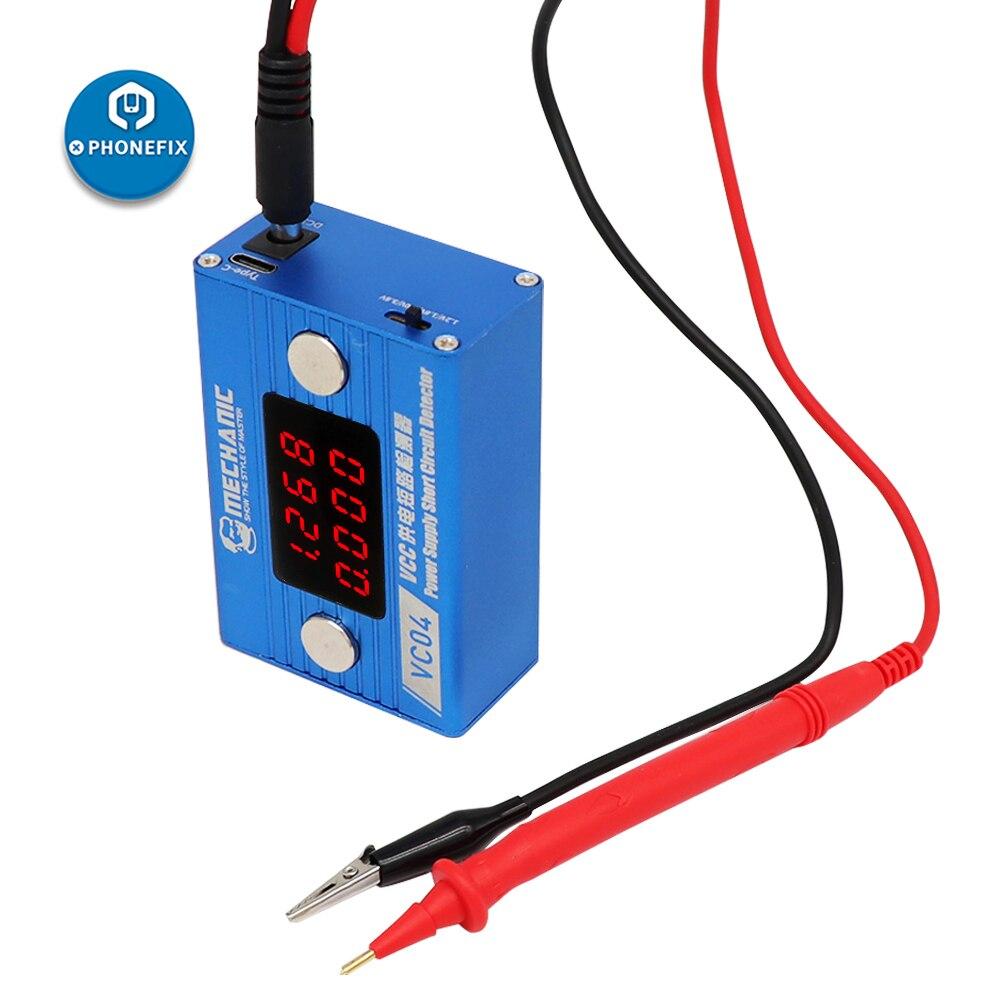 Circuit Short VCC Power Phone Mobile Board Circuit Supply MECHANIC Circuit Tool Detector Killer Motherboard Repair Burning Short