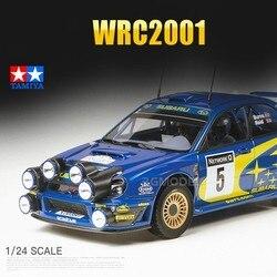TAMIYA 1:24 échelle en plastique voiture assemblée modèle SUBARU WRC2001 voiture Kit de construction bricolage 24250 Collection jouet