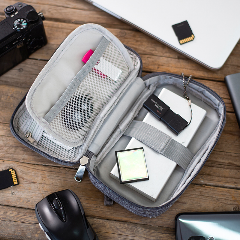 Electronic Digital Cable Bag Men Travel Accessories Portable Wires Suitcase Case Charger Power Bank Zipper Bag Organizer Supplie