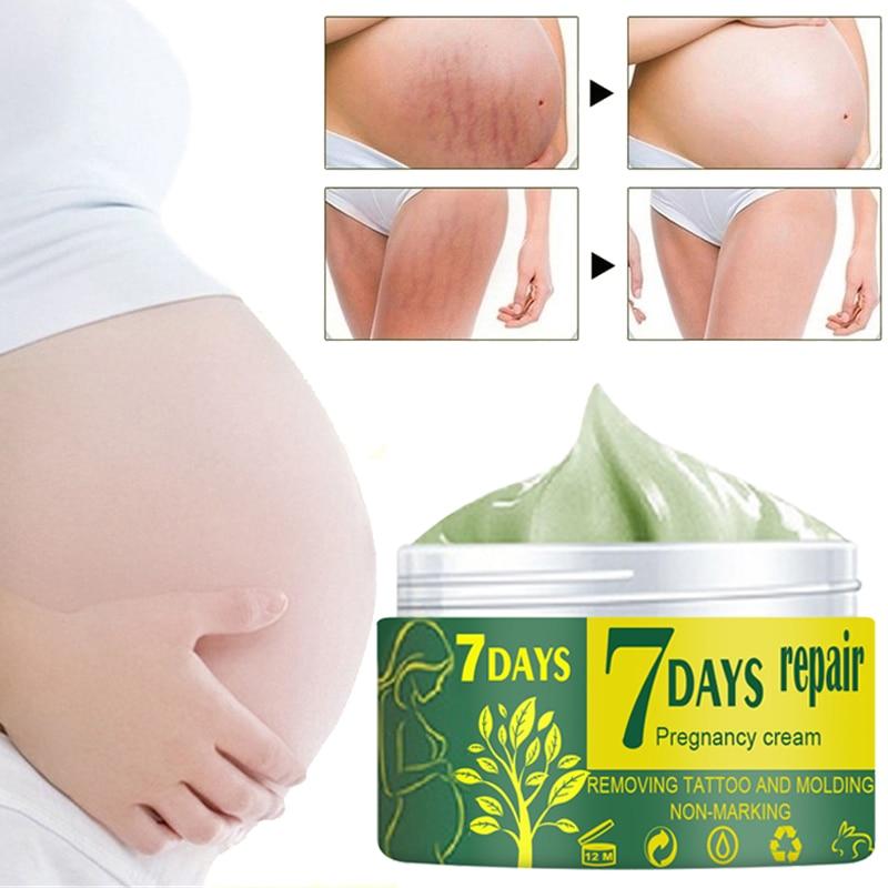 Segni di gravidanza che riparano la crema per il corpo smagliature crema per la rimozione della cicatrice dell'irritazione idratante rassodante lozione antirughe per la cura della pelle 4