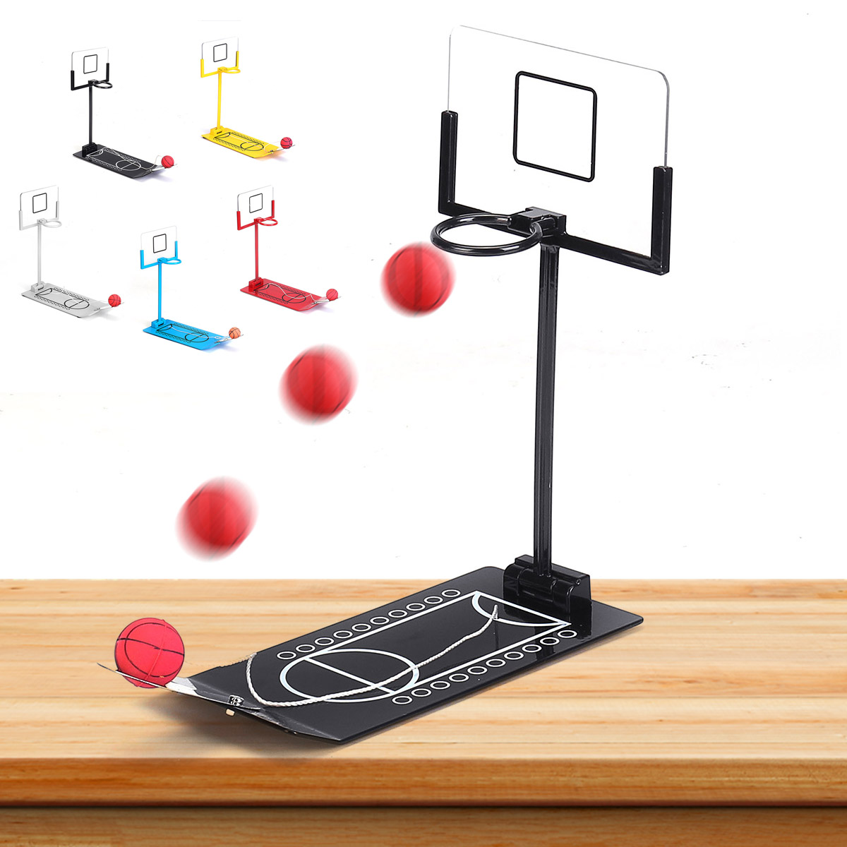 Stress Relief Toy Foldable Mini Basketball Game Office Desktop Table Basketball Birthday Gift For NBA CBA Lovers Training Toys
