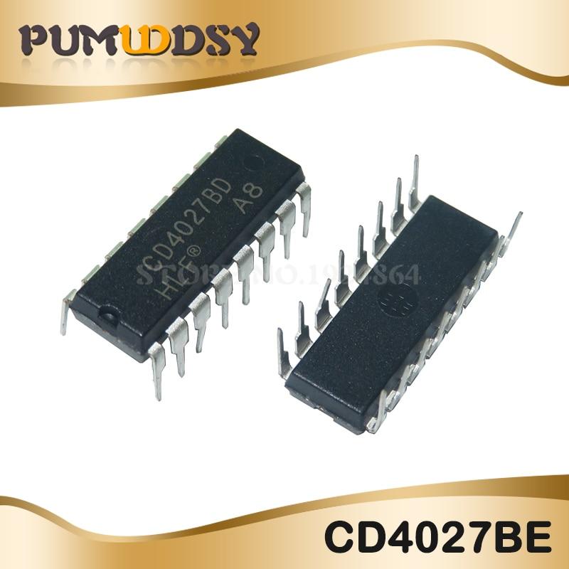 10PCS/LOT CD4027BE CD4027 4027BE 4027 DIP16 IC