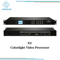 Colorlight X4 video processor integrate 2 pcs sending card two in one processor 4 ports output