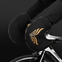 Super sell-WHeeL UP Bike Handlebar Mitts Cycling Handlebar Gloves Winter Warm Covers Breathable Anti-Wrinkle for Road Bike(China)