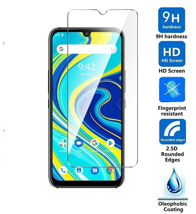 Tempered Glass For UMIDIGI A7 9H Safety Cover Transparent Protective Film Front Shield Screen Protector Case For Umidigi A 7