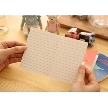 4pcs/lot Lovely cartoon Fresh Animal Daily journal Notepad fancy School Office material Stationery