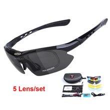 Gafas tácticas militares antigolpes, 5 lentes, Airsoft, gafas de Paintball, deportes al aire libre, tiro, senderismo, pesca, ciclismo