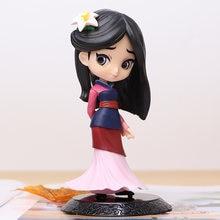 2020 Горячая 14 см q posket принцесса Мулан фигурка модель игрушки