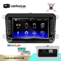 LeeKooLuu Double Din DVD Automotivo For Volkswagen Skoda Octavia Golf Touran Passat Jetta Polo Tiguan 2Din Multimedia Car Radio