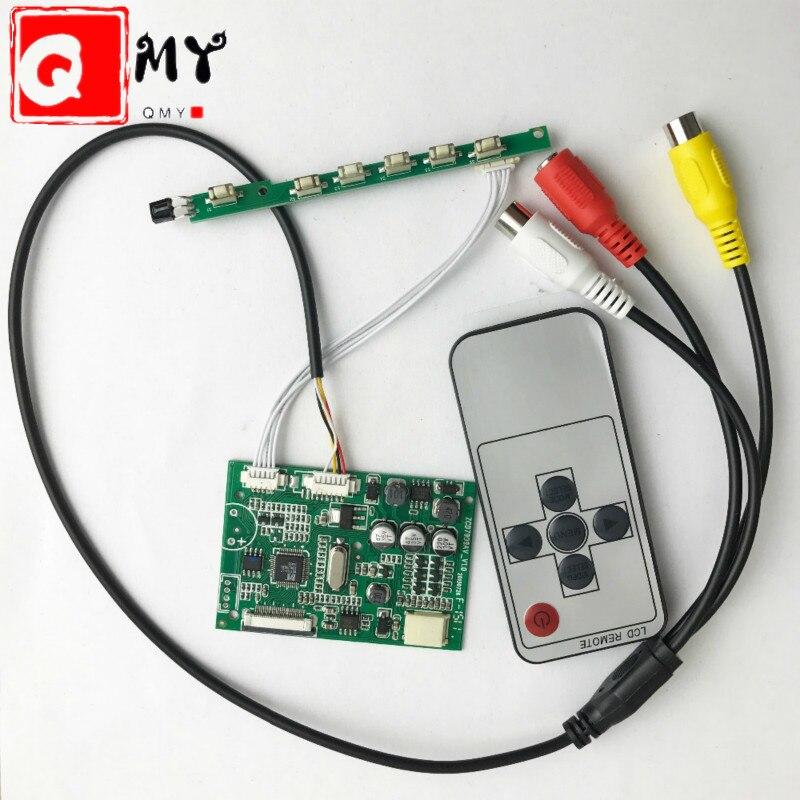 AT070TN07 V.A V.B V.D Driver Board 7-inch 26pin TFT Dedicated Analog RGB For LED Screen Car Display Display AV1 AV2