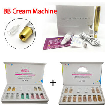 Golden Electric dr derma pen BB Cream Pen Tattoo Gun for bb cream Serum bb fundation Skin Care BB Treatment whitening serum vichy idealia bb cream