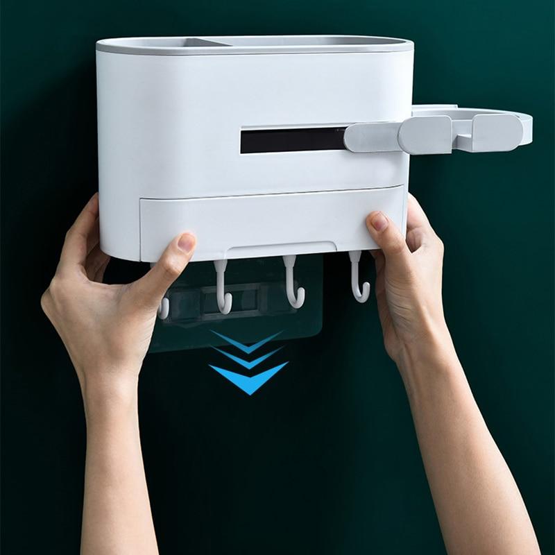 Ванная комната полки фен фен стеллаж стена навес фен вешалка ванна место для хранения стеллаж фен полка органайзер для ванной комнаты
