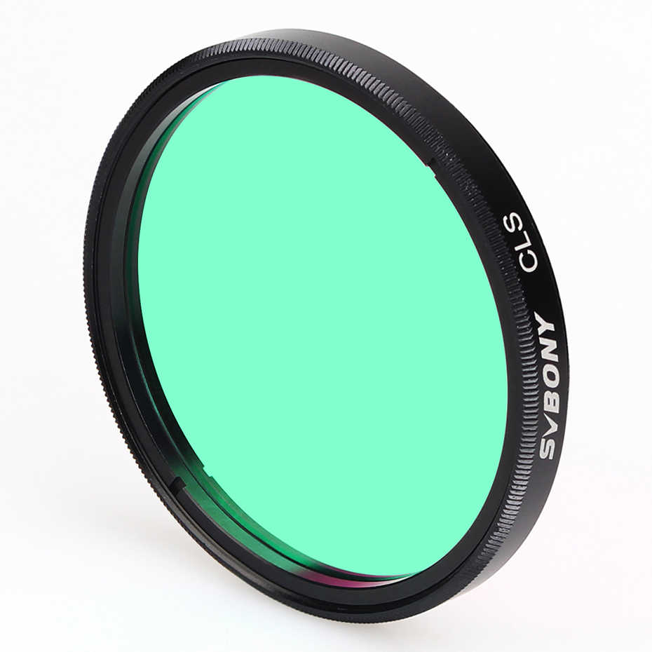 "SVBONY 2/""CLS Deep Sky Filters for Telescope 2/'/' Eyepiece Cuts Light Pollution"
