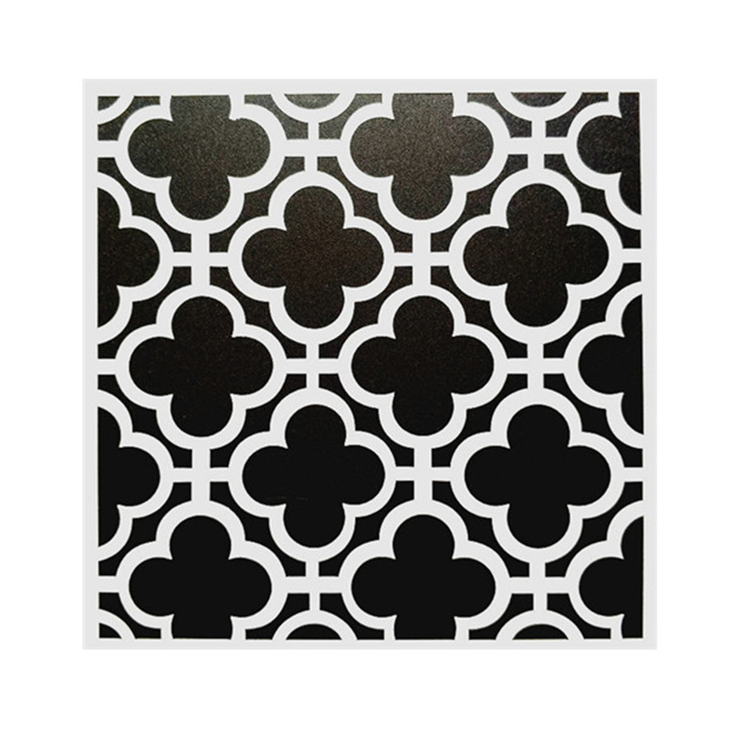 15*15cm DIY Craft Art Stencil Template For Wall Tile Painting Scrapbooking Stamping Album Decor Embossing Card