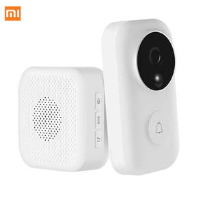 Xiaomi Doorbell-Set Push-Intercom Ai-Face Identification Video Free-Cloud-Storage Motion-Detection