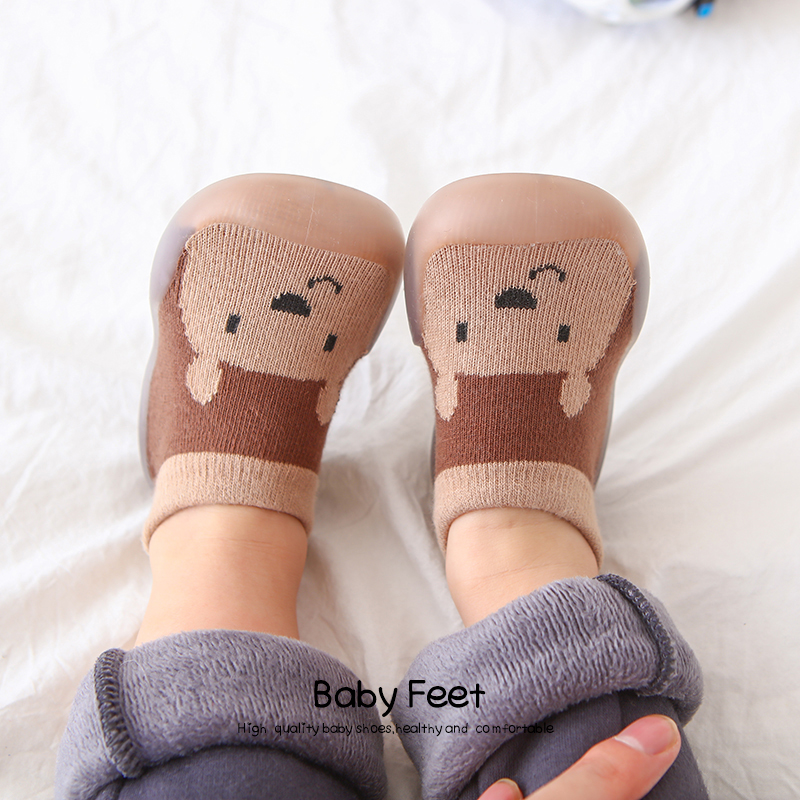 baby sock shoes soft sole animal cute shoes | Happy Baby Mama