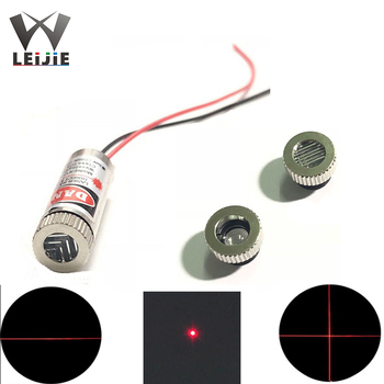 650nm 5mW DOT / Line / Cross 12*35mm Focusable Adjustable 3V-5V Red Laser Module Industrial 12mm LED LD Module 5mw adjustable focus red laser line module 4 5 5v