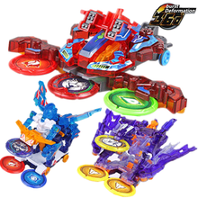 Screechers פראי פרץ סלטות שינוי מדבקות רובוט רכב אנימה פעולה דמויות צייד לכידת שבב רקיק ילדים בני ילדה צעצועים