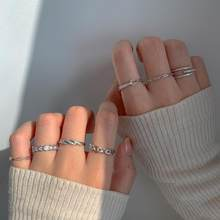 S925 Sterling Silver Rings for Women Exquisite Crystal Fashion Ring Light Luxury Personality Ring Jewelry Wholesale