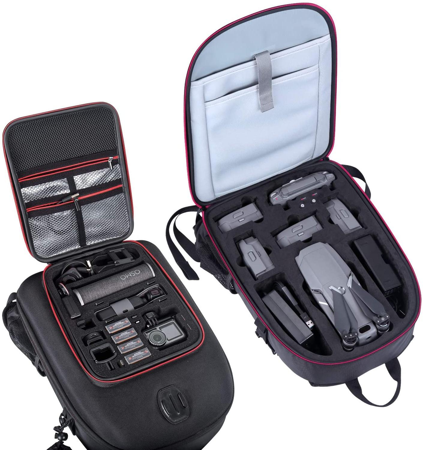 Smatree Backpack for DJI Mavic 2 Pro/Zoom for DJI OSMO Pocket/OSMO Action/Gopro 7/6/5/4/3/3+Camera/Video Bags   -