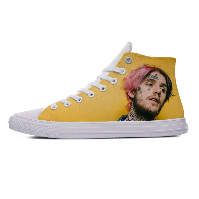 LIL PEEP THEMED HIGH TOP SHOES (5 VARIAN)