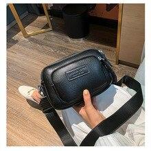 2019 Autumn New Fashion Woman Bag High Quality Leather Fashion Casual Broadband Shoulder Messenger Bag Woman Famous Luxury Brand цены
