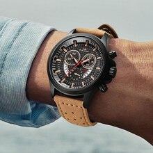 New Men Army Creative Sports Watches Breathable Microfiber Strap Quartz Watch Personality Calendar Waterproof reloj hombre