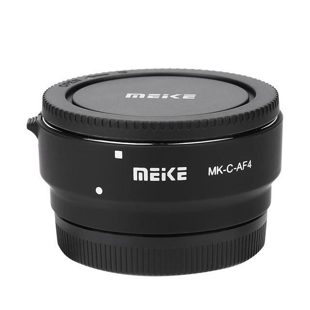 マイクス MK C AF4 電子オートフォーカスアダプタ canon eos m M1 M2 M3 M5 M6 M10 EF M カメラマウントレンズアダプタ