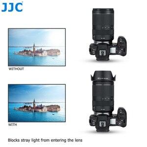 Image 5 - JJC caméra pare soleil réversible pour Canon RF 24 240mm f/4 6.3 est objectif USM sur Canon EOS R EOS RP EOS Ra remplace CANON EW 78F