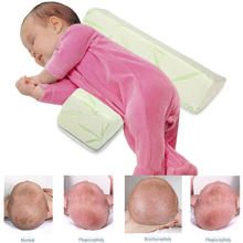 Baby Positioning Pillow newborn Shaping Styling Anti-rollover Side Sleeping Triangle Infant baby room pillow