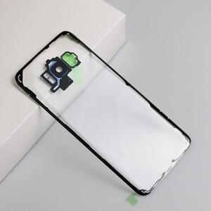 Image 5 - עבור Samsung S8 S8 בתוספת ברור סוללה שיכון כיסוי דלת אחורית מקרה החלפה לסמסונג גלקסי S8 S8 + סוללה כיסוי מקרה