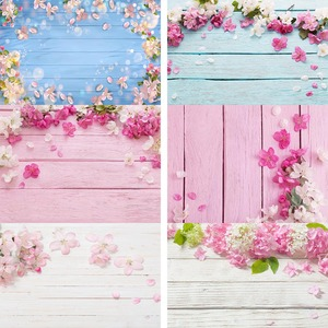 Vinyl Wood Background for Photography Board Rose Flowers Pet Doll Food Photocall Portrait Photographic Backdrops Photo Studio