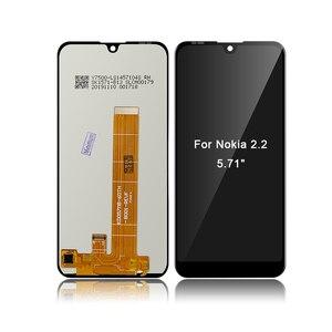 """Image 4 - Dla Nokia 2.2 N2.2 5.71 """"wyświetlacz LCD ekran dotykowy wymiana Digitizer zgromadzenia LCD + prezent"""