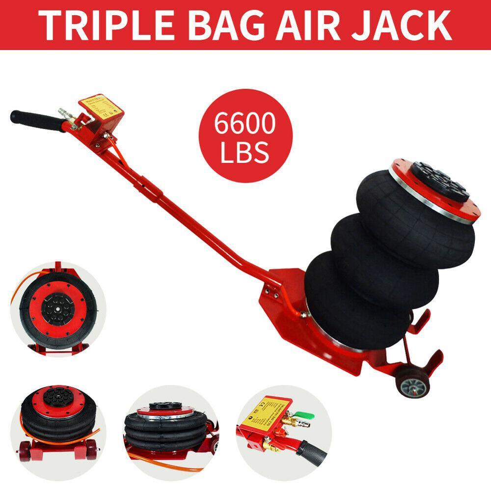 3 Ton Triple Bag Air Jack 6600 LBS Pneumatic Jack 5