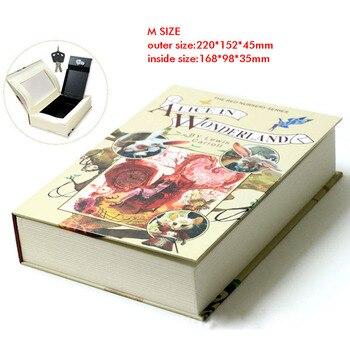 Βιβλίο με Κρυφό Μεταλλικό Κουτί Ασφαλείας με Κλειδαριά ή Συνδυασμό Ψεύτικο Βιβλίο Κρυψώνα για τους Κλέφτες Ψεύτικο Βιβλίο-Χρηματοκιβώτιο