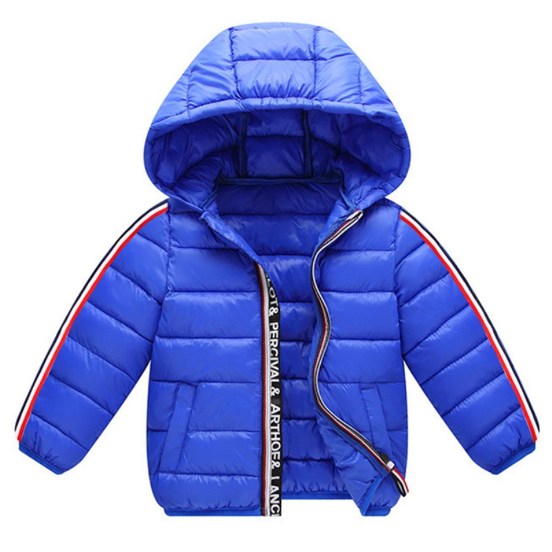 Spring Winter Warm Jacket For Girls Coats For Boys Jackets Baby Girls Jackets Kids Hooded Outerwear Coat Children Clothes 1-6 T