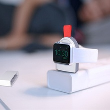 Mini Portable Wireless Charger for Apple iWatch 1 2 3 4 5 Dock Adapter Fast Charging Charger Smart Watch Wireless Charging Base wireless charger for apple watch 4 3 2 1 i watch charging portable adapter for apple watch 4 3 usb charger base mini 2mm cable