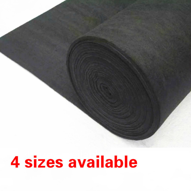 1Pcs New Arrival Soft Graphite Carbon Felt High Temperature Carbon Fiber For Contamination Adsorption Cleaning