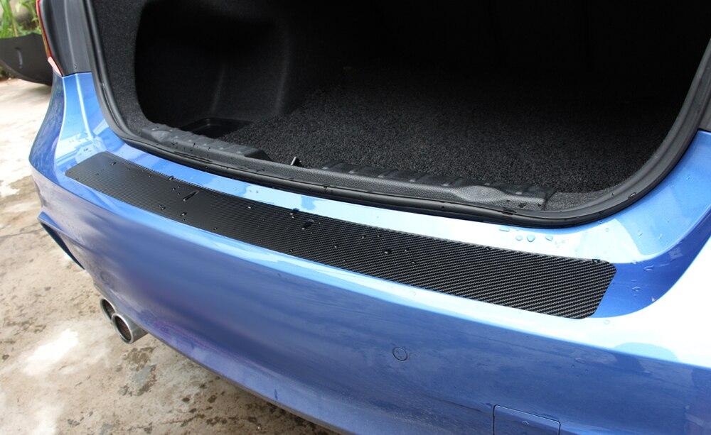 Image 3 - Rear Guard Plate Sticker Car Bumper Trim for impreza skoda octavia 2014 dacia duster subaru tribeca  forester citroen c5 bmw e46-in Car Tax Disc Holders from Automobiles & Motorcycles