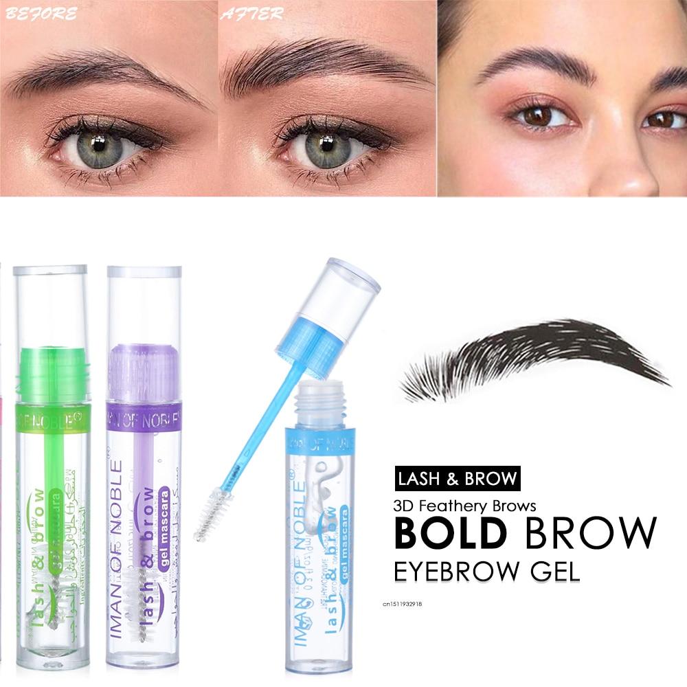 3D Feathery Brows Transparent Eyelash Primer Eyelash Brow Colorless Eyebrow Gel Shaping Corrector Eyebrow Shape Fixed Gel