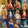 5D DIY религиозная Алмазная вышивка Иисус полная дрель алмазная живопись Смола Алмазная мозаика Искусство украшение дома подарок