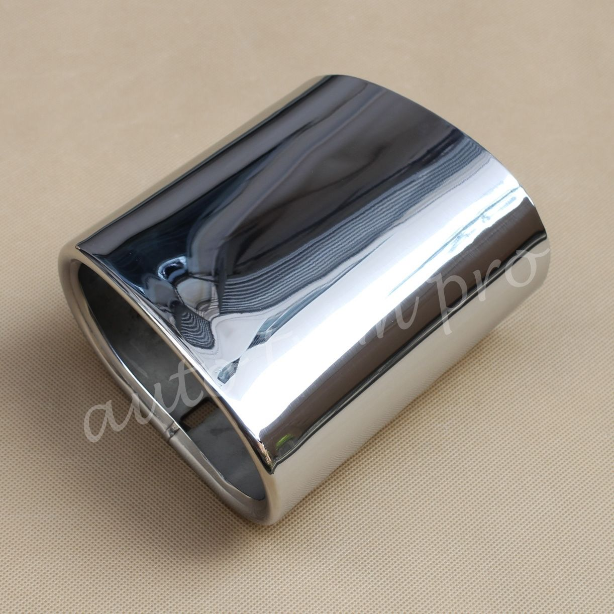 Stainless Steel Car Rear Exhaust Muffler Tailpipe End Trim Fit For BMW X3 SUV xDrive 20i 20d 2011 2012 2013 2014|Mufflers|   - title=