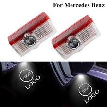Автомобильная светодиодная подсветка двери эмблема логотипа