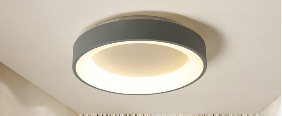 Hba63e8cd1665475d848fbfb12bd808b0U Round Modern Led Ceiling Lights For Living Room Bedroom Study Room Dimmable+RC Ceiling Lamp Fixtures