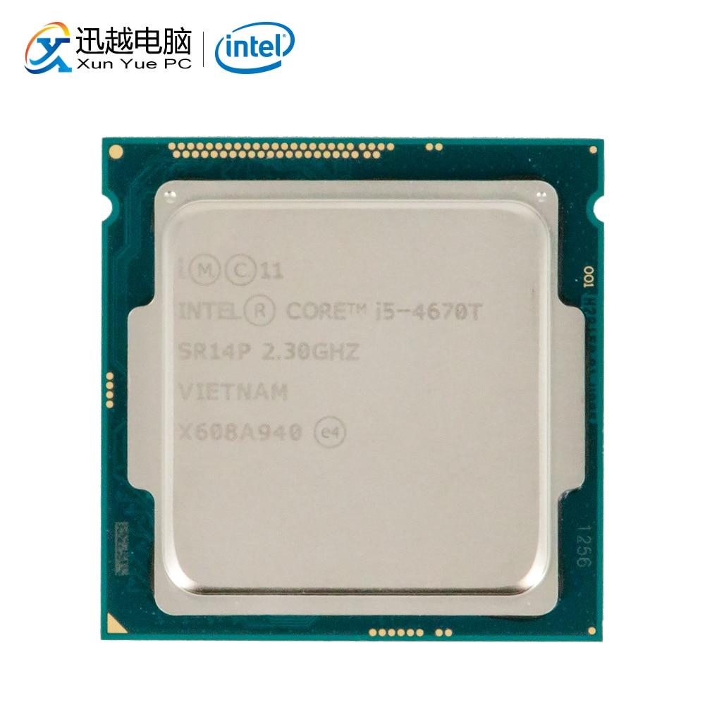 Intel Core I5-4670T Desktop Processor I5 4670T Quad-Core 2.3GHz 6MB L3 Cache LGA 1150 Server Used CPU